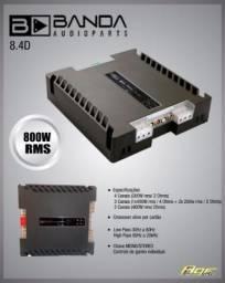 Modulo banda 8.4 4 canais 200wrms comprar usado  Recife