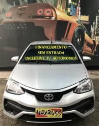 Toyota etios 1.5 x sedan 16v flex 4p manual - 2018