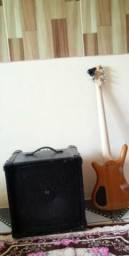 Wawrick rock bass e caixa Meteoro