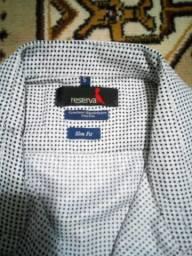 Camisa, manga curta, 5, Reserva.Nova