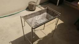 Churrasqueira portátil de alumínio fundido