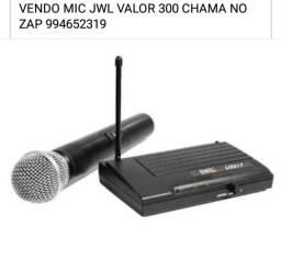 MICROFONE JWL NOVO ZERO VALOR 300 REAIS