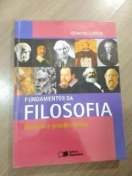 Fundamentos da Filosofia - Gilberto Cotrim - Editora Saraiva comprar usado  Curitiba