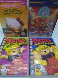 DVD's diversos filmes infantis