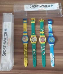 Coleção Relógios Senninha Parmalat - Lote 4 Unidades