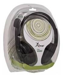 Título do anúncio: Fone De Ouvido Headset Microfone Xbox 360 Kp-324 Knup
