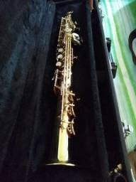 Sax soprano Eaglee sp 502 seminovo