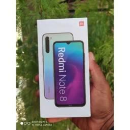Luxo. REDMI Note 8 64 da Xiaomi. Novo lacrado com garantia e entrega imediata hoje