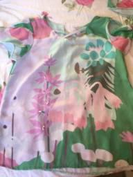 Blusa e Cropped