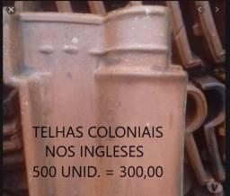 Vendo 2 Mil Telhas Usadas nos Ingleses