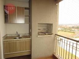 Apartamento com 3 dormitórios para alugar, 111 m² por R$ 2.600,00/mês - Nova Aliança - Rib