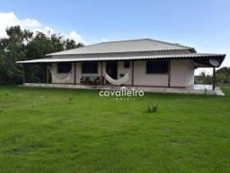 Sítio com 3 suítes à venda com área de 5560 m²- Caxito - Maricá/RJ