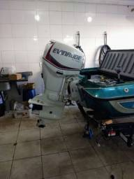 Quest Bass boat 258 motor 90hp