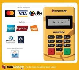 Maquininha de cartao débito e crédito