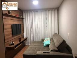Apartamento com 3 dormitórios à venda, 85 m² - jardim las vegas - guarulhos/sp