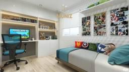 RS Residencial Aurora Jardim no Centro de Paulista, Seu 2 quartos com Lazer e Segurança