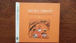 Cd livro Legião urbana música p/ acampamentos 2