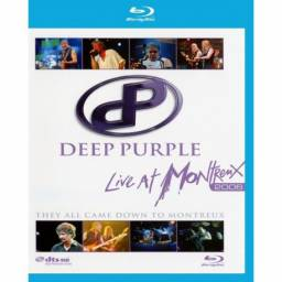 Blu ray Deep Purple - Live At Montreux 2006 - They All Came Down To Montreux