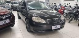 Toyota corolla 1.8 xei preto 2007 gasolina