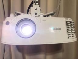 Projetor Benq MS550 SVGA e Suporte para projetor