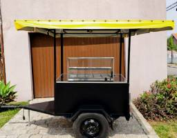 Food truck pequeno, semi novo!