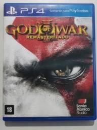 Jogo God of War 3 Capa Azul PS4 Midia Fisica Games GOW 3 Playstation 4