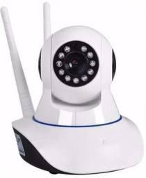 Camera Ip 2 Antenas Ultra Hd Visão Noturna Sensor de Movimento