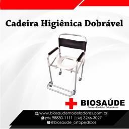 Cadeira higiênica promoção LOJA Biosaude Angelim