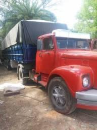 Scania 110 com carreta ls