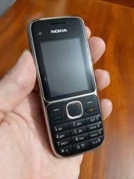 Celular Nokia C2-01 preto VIVO