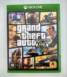 Jogo Gta V Xbox One Mídia Física (Seminovo)