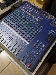 Mesa de som Yamaha mg 166c - Com case