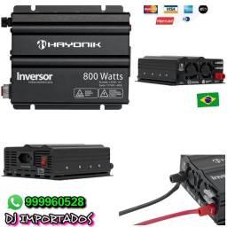 Inversor de energia 800 wats onda modificada apenas RS 400.00