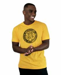 Camiseta Bleed American Los Borachos Amarela Camisa Masculina