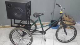 Triciclo som propaganda [ vendo ]