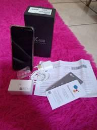 LG K40S NA CAIXA COM NOTA FISCAL
