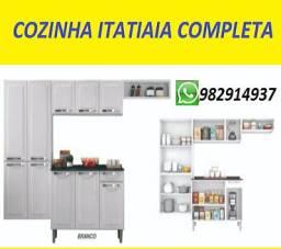 Entrego e Monto!!Cozinha Itatiaia Completa em Aço Nova na Caixa!!!