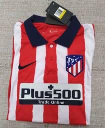 Camisa Atlético De Madrid Nike Modelo 2021 Original Importada Entrego