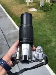 Nikon D40 + Lente 18-55 + lente 70-300 + carregador + bolsa
