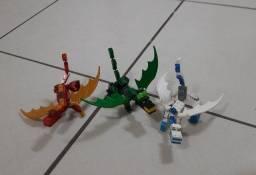 Lego similar Dragões
