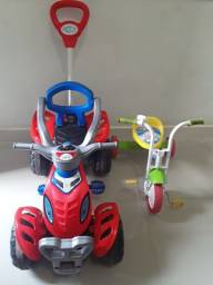 Quadriciclo e triciclo