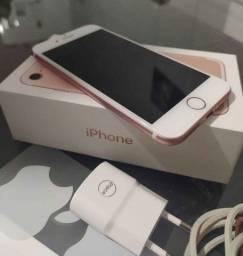IPhone 7 rosé 32 gb com caixa e nota fiscal