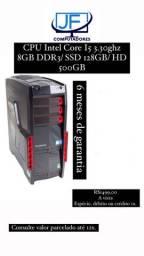 Computador Intel Core I5 3.30ghz - 4gb Ddr3/ SSD 128GB/ HD 500GB