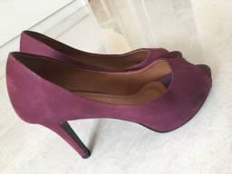 Sapato peep toe Regina Rios 36