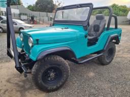 Jeep Willys inteiro revisado!