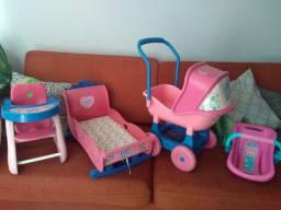 Lote brinquedos Baby Alive