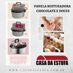 Panela para Misturar Doces e Chocolates (Misturador / Misturela)