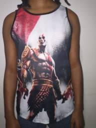 Título do anúncio: Regata Camiseta Tradicional geek nerd