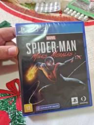 Spider-man Miles Morales(novo e lacrado)