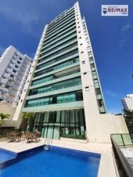Título do anúncio: Apartamento com 3 dormitórios à venda, 95 m² por R$ 770.000,00 - Pituba - Salvador/BA